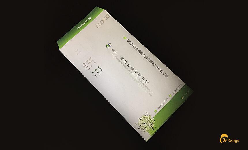松川木業,信封設計,平面設計